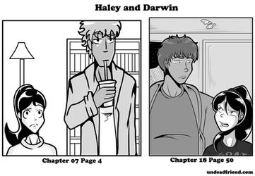 Art Comparison: Haley and Darwin 2020