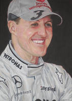 Michael Schumacher by AGirlCalledCatherine