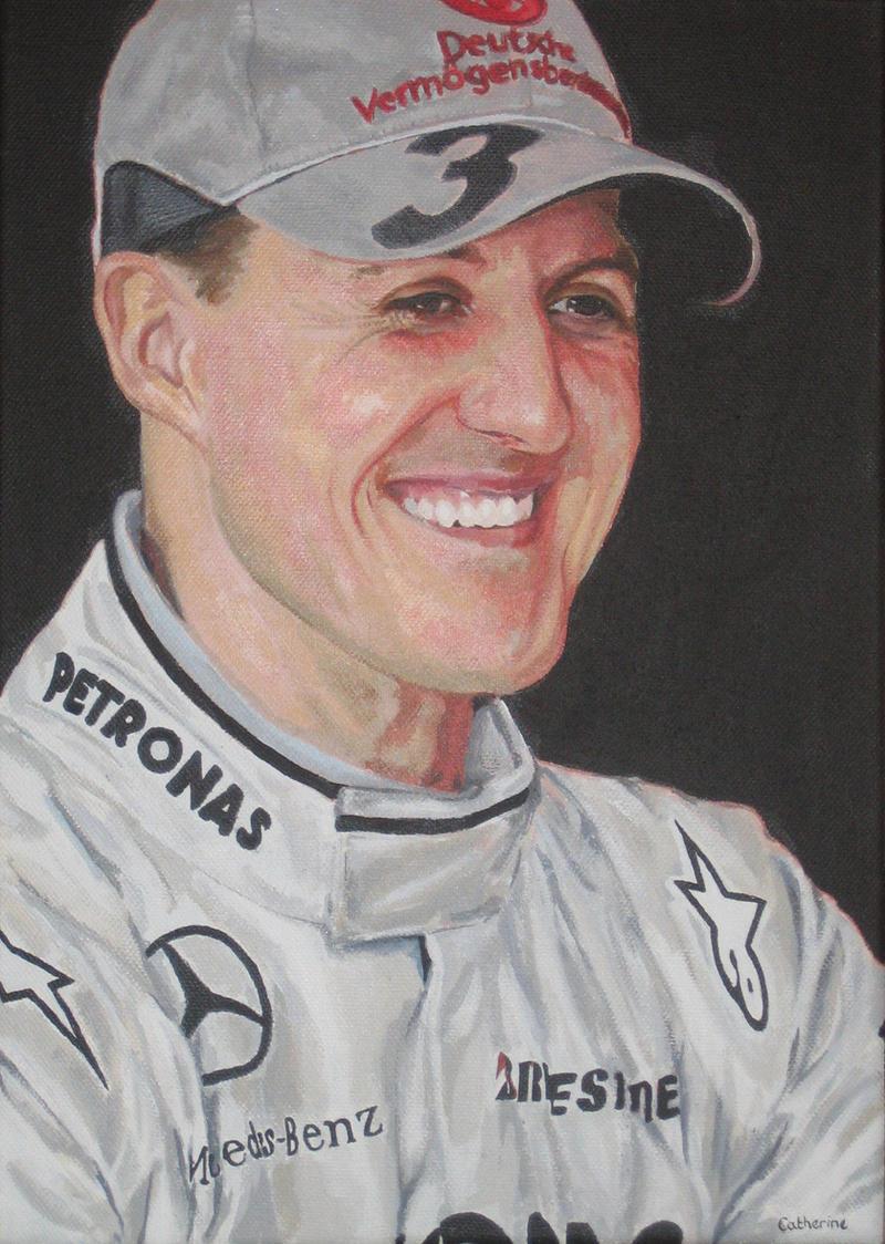 Michael Schumacher by AGirlCalledCatherine