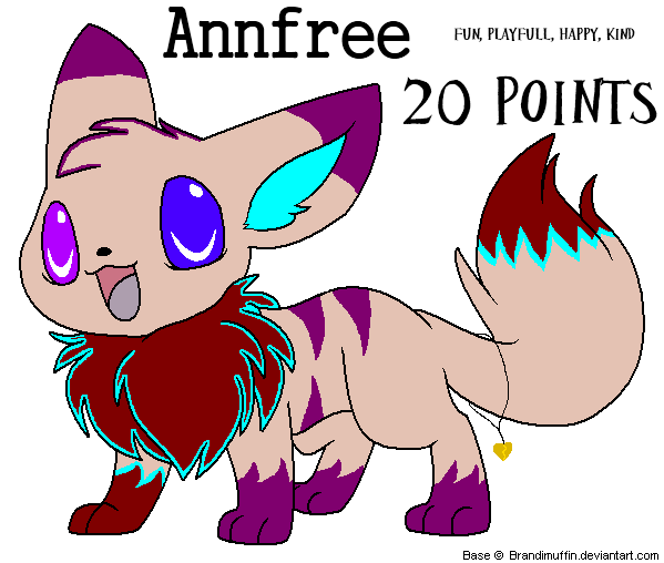 20 point eevee adopt by SyvaTheWolf123
