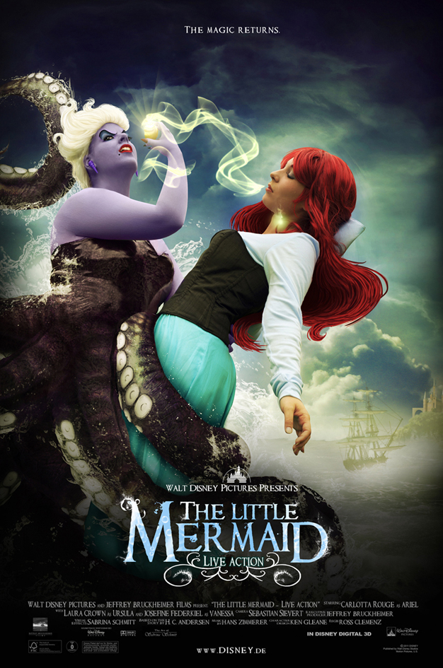 The little mermaid: Live Movie by Pyro911