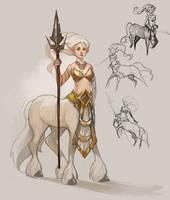 Lunara - Unicorn by Ashelflaed