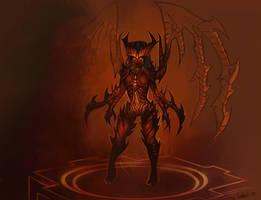 Prime Evil Kerrigan - Concept by Ashelflaed