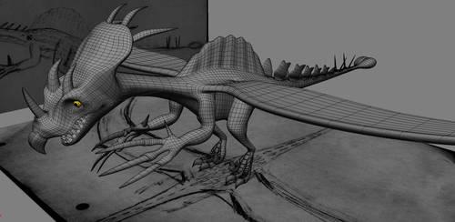 Dragon Draft 3 by ChozoBoy