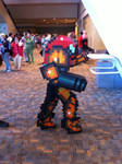 Samus Pixelated Cosplay