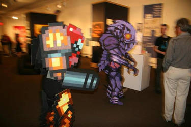 Samus Aran, Space Invader by ChozoBoy