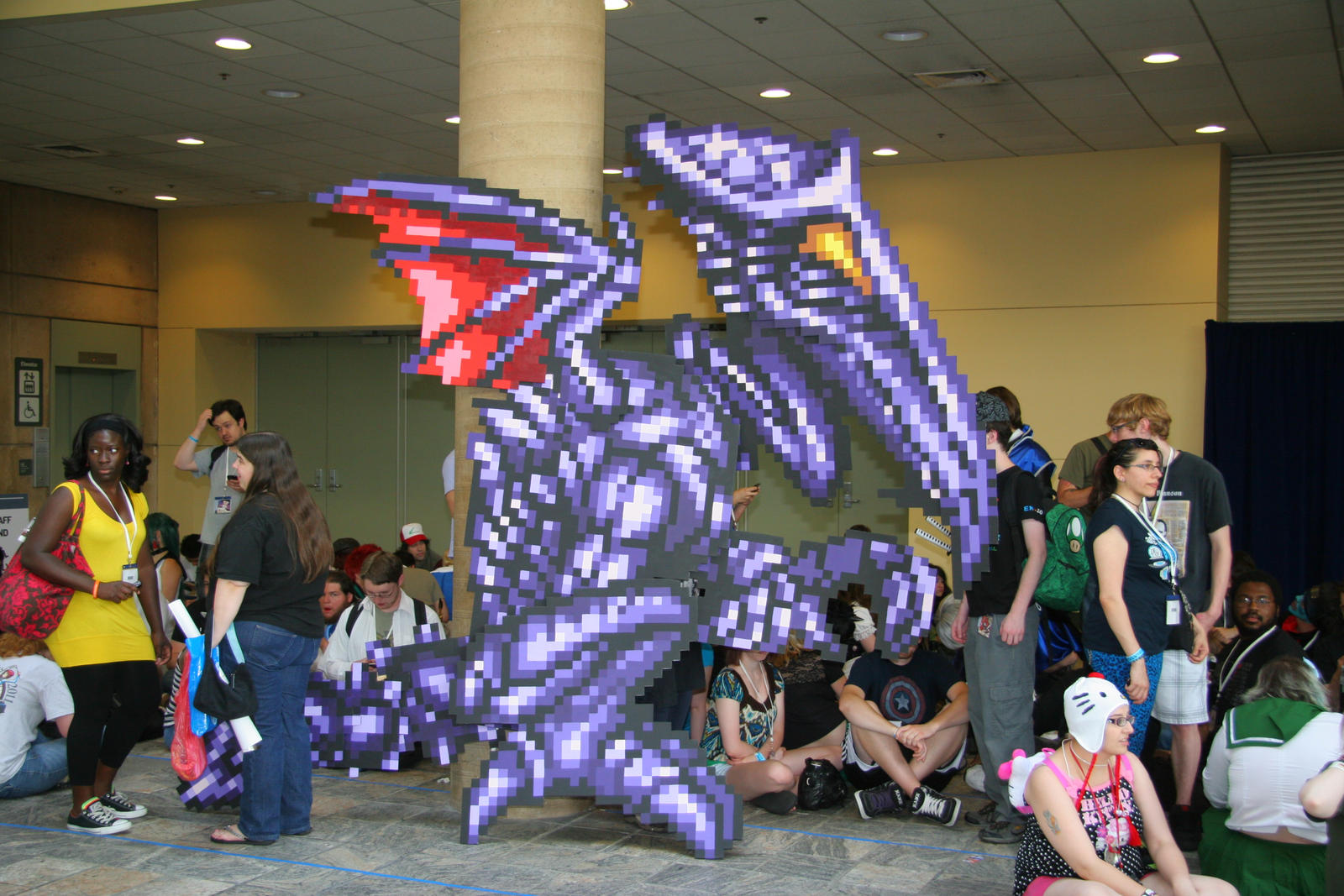 The Purple Dragon in the Room