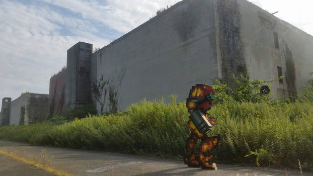 Samus in the Ruins