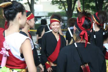 Dancing Group.
