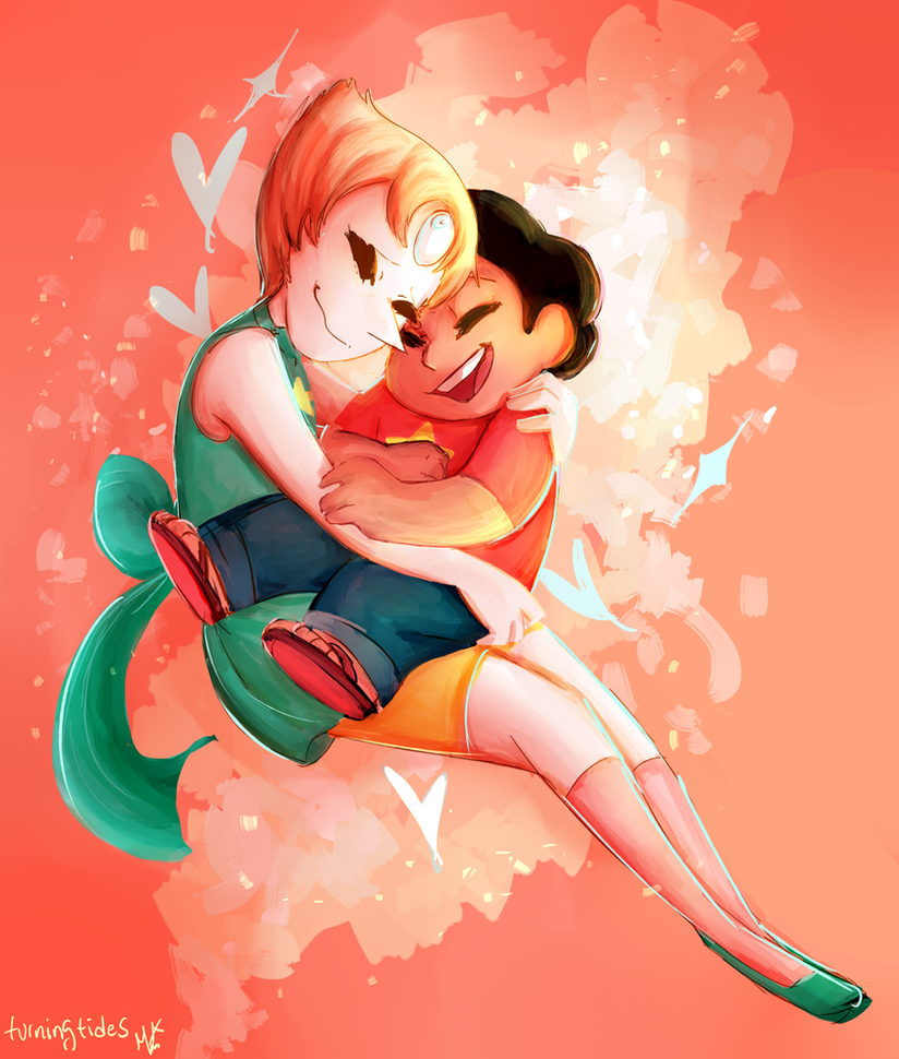 pearl and steven (c) Rebecca Sugar