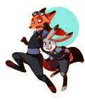 The Fox and The Bunny