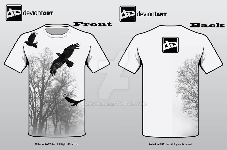 DA Shirt Design idea by Masharia