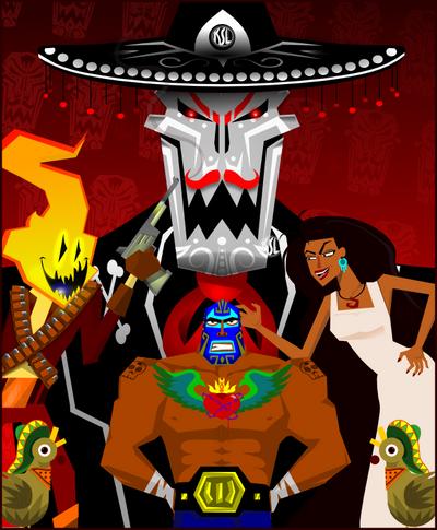 Guacamelee Poster 1 by Tigresuave11