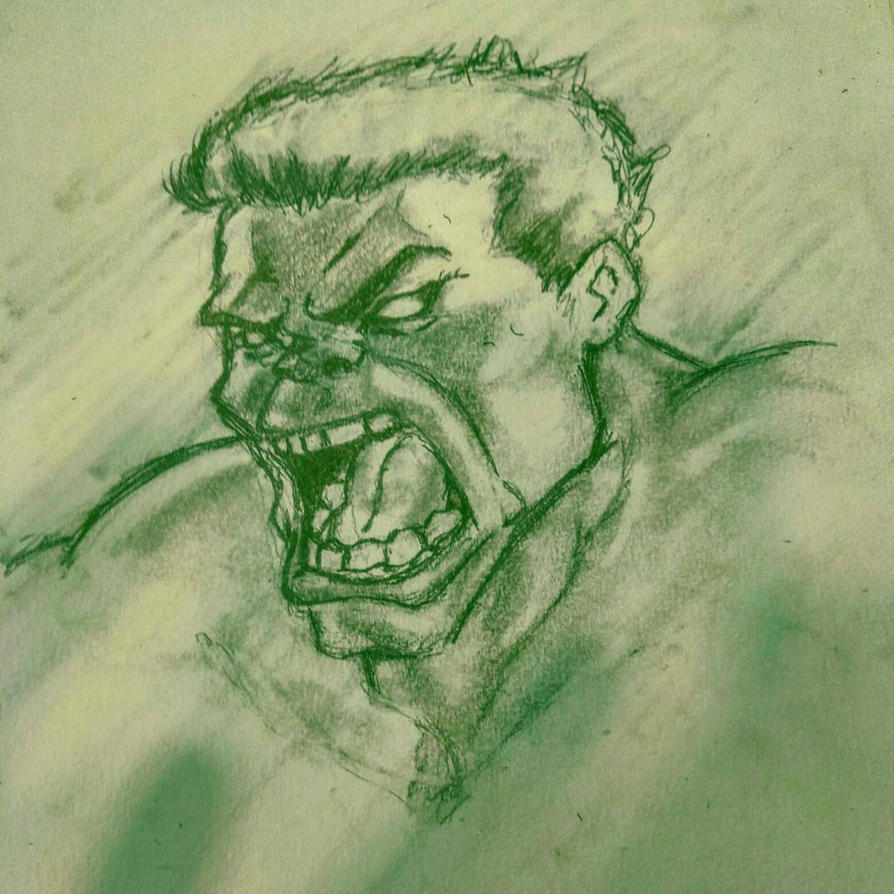 Hulk Smash!!! by Tigresuave11