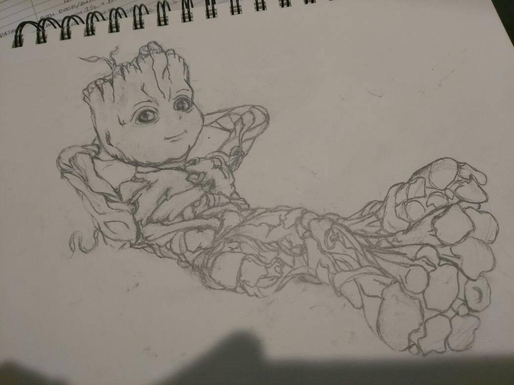 Groot by Tigresuave11