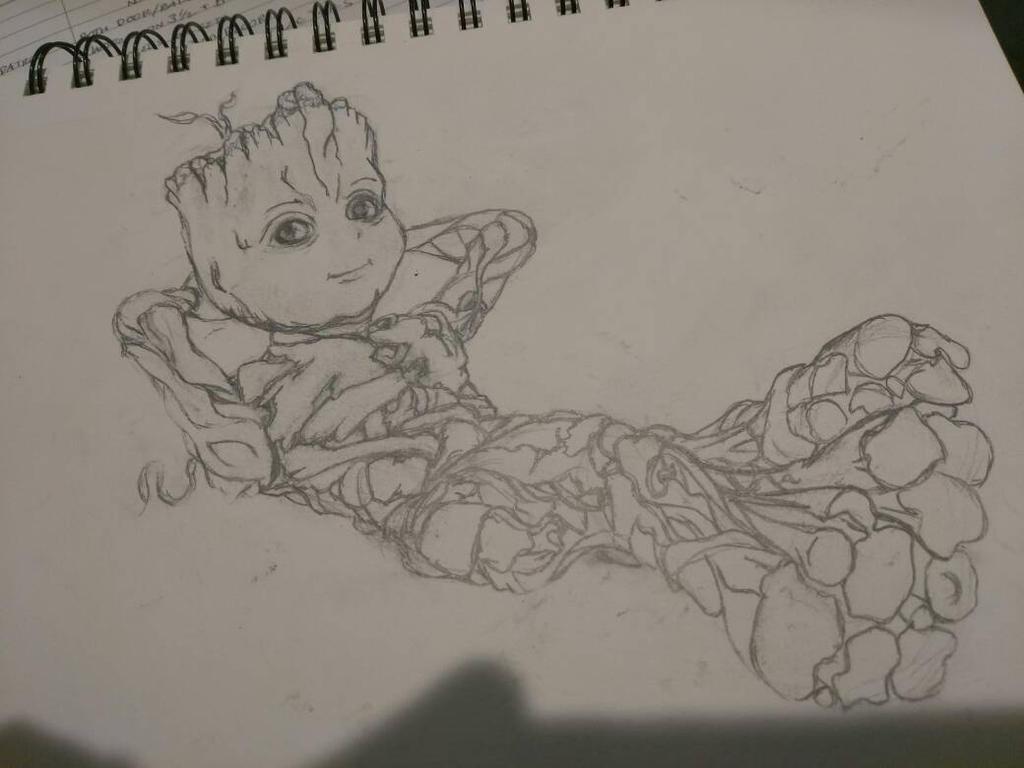 Groot by Tigresuave11