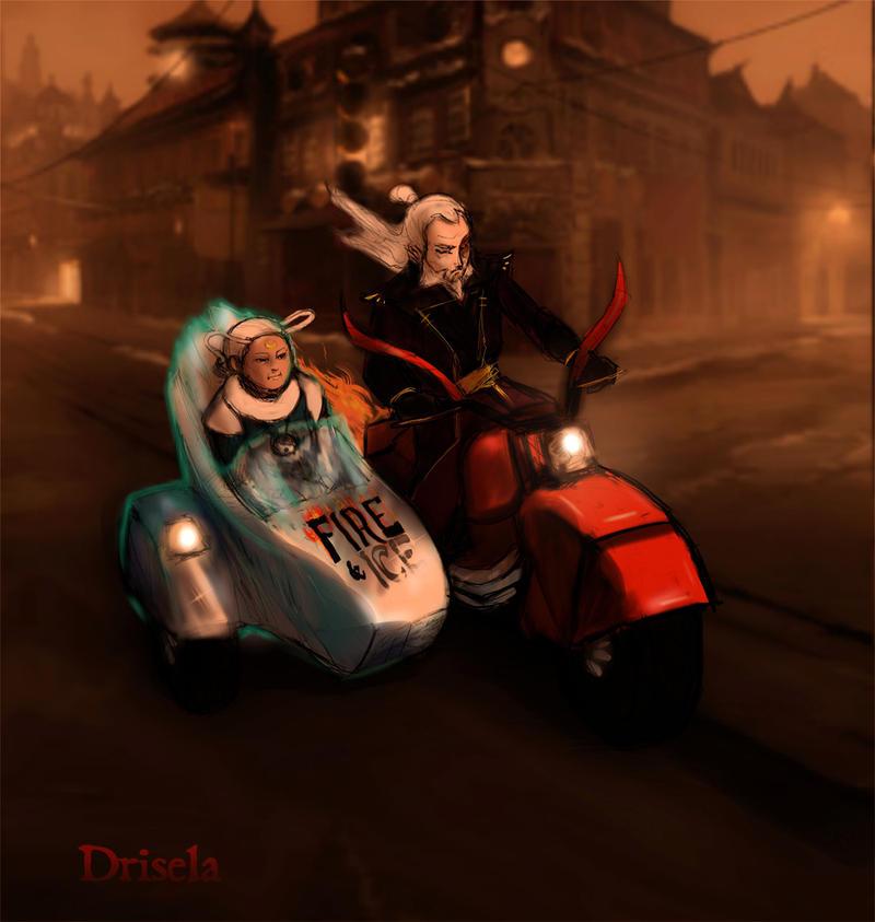 03 Motorcycle (OLD SCHOOL) by Drisela