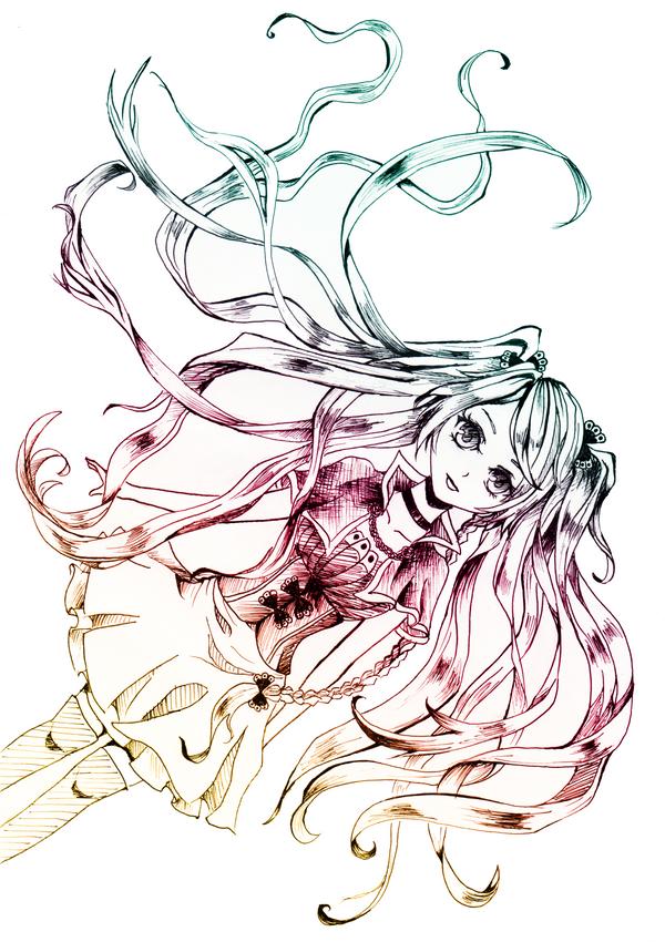 magic girl by xianxiu-ling