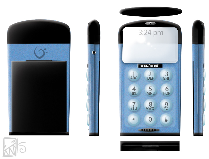 phone design by Kinla