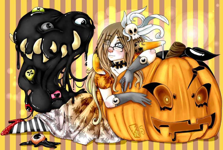 Halloween Kinny by Kinla