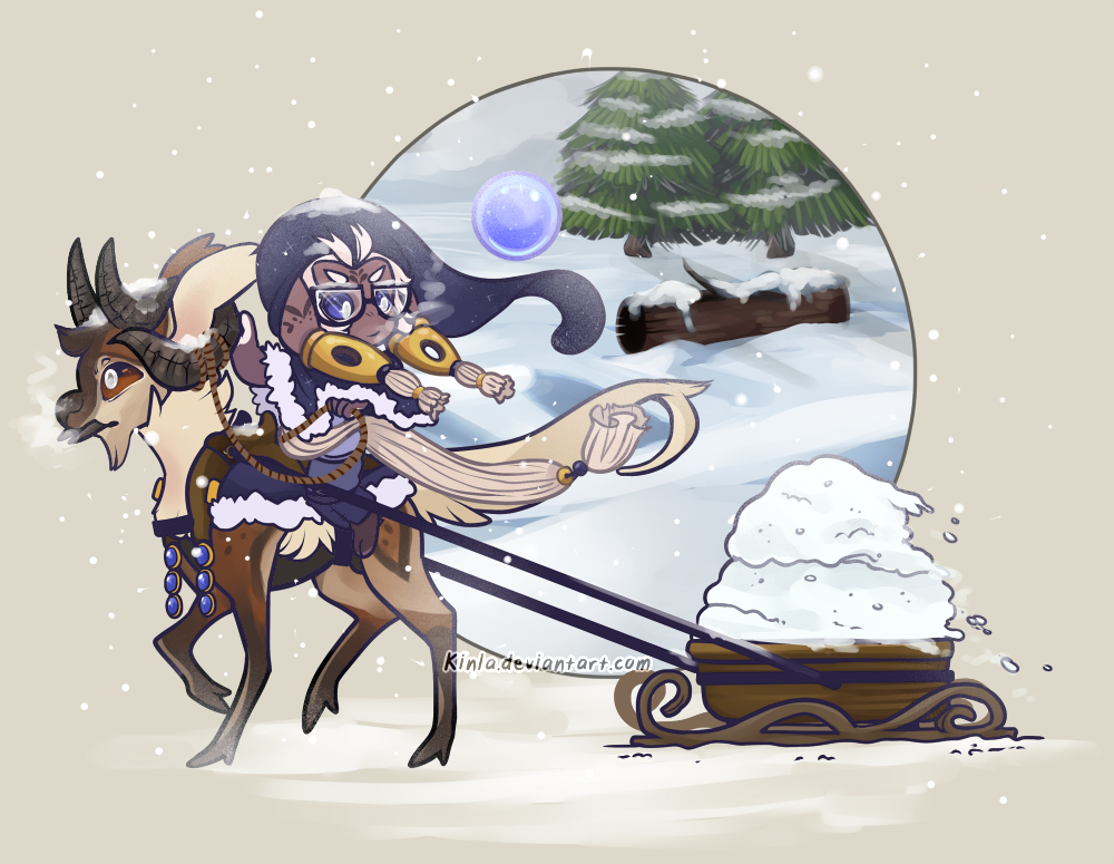 bub-chi: Winter Activities Prompt by Kinla