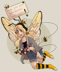 Bee-lieve for Recovery by Kinla