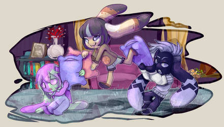Bub-chi: [Event] Pillow Fight 3