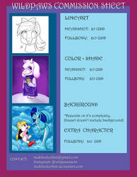 Commission Info by TsukiButterflah
