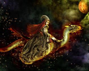 Lady Dragon by nianiniel
