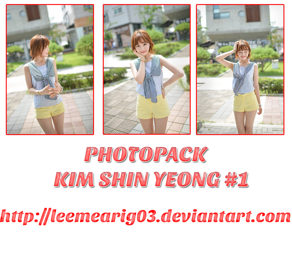 Photopack Kim Shin Yeong #2 by LeeMeariG03