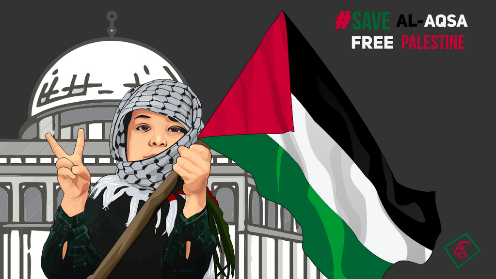 Palestine Children by annassetiawan