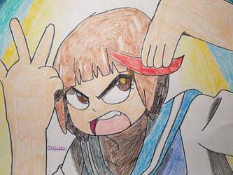 Mako Mankanshoku by AnimatedOne