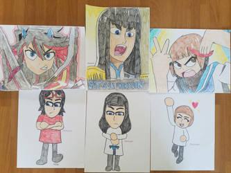 My Kill la Kill Drawings by AnimatedOne