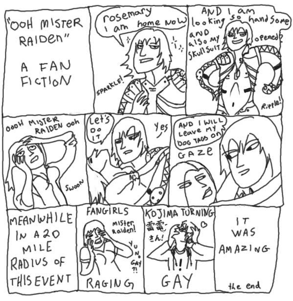 Ooh Mister Raiden: A Fan Fiction by Dragonblade-Dreams
