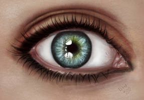 dream eye by bluemo0on