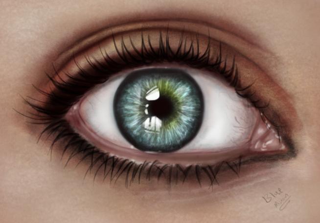 dream eye by bluemo0on