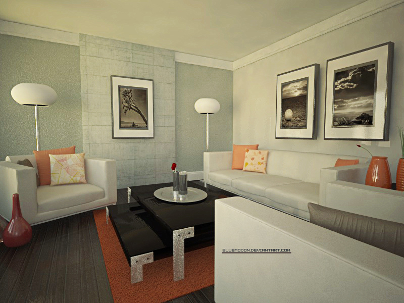 living room by bluemo0on