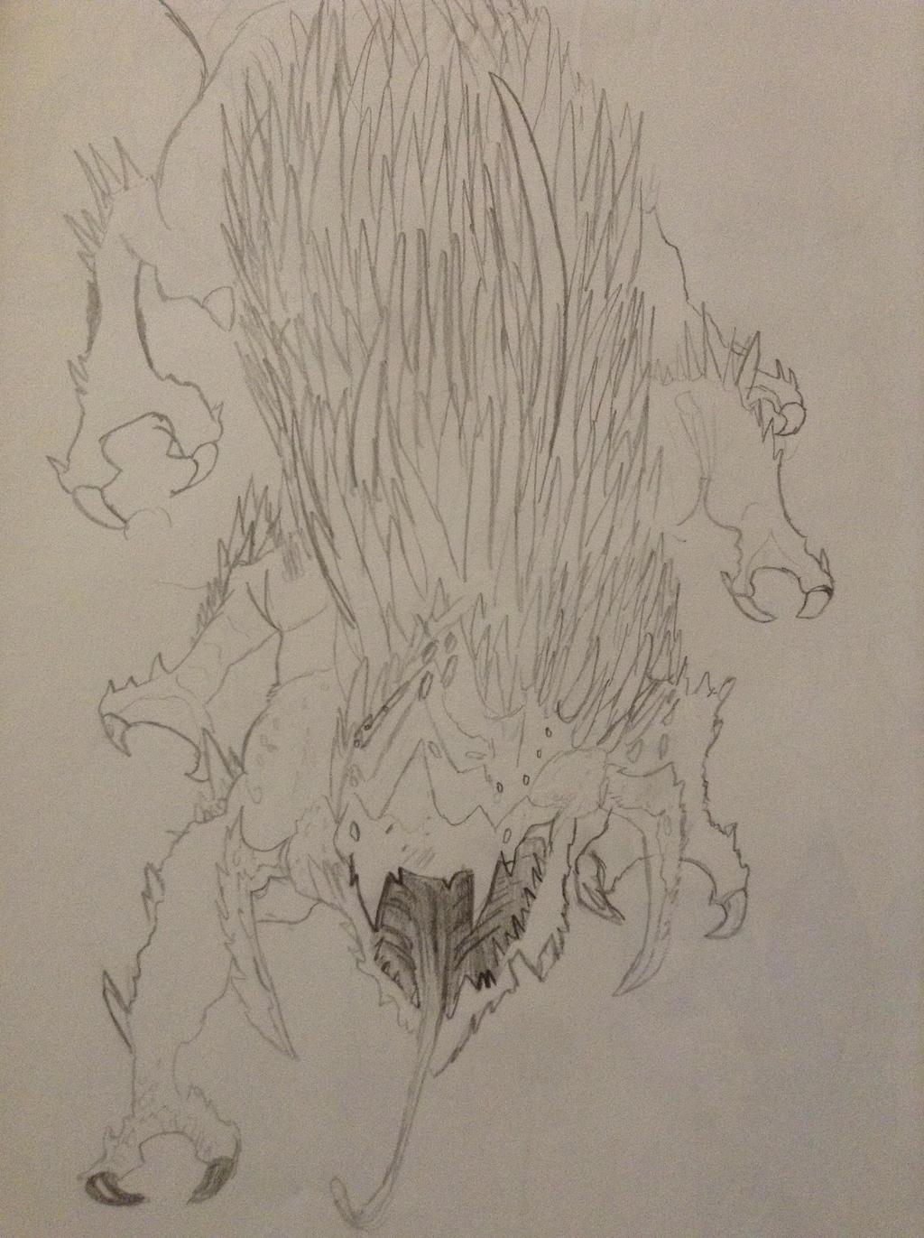 Xenobeast by TheGreenNightingale