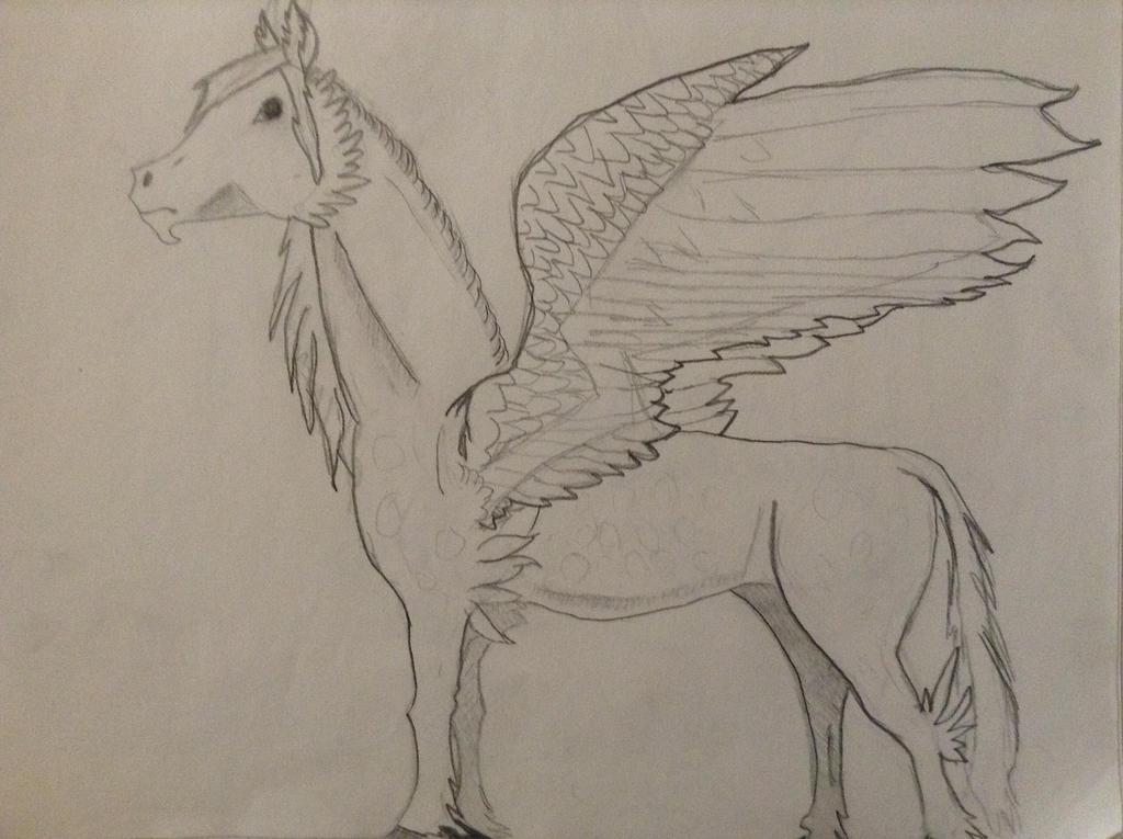 Pegasus by TheGreenNightingale