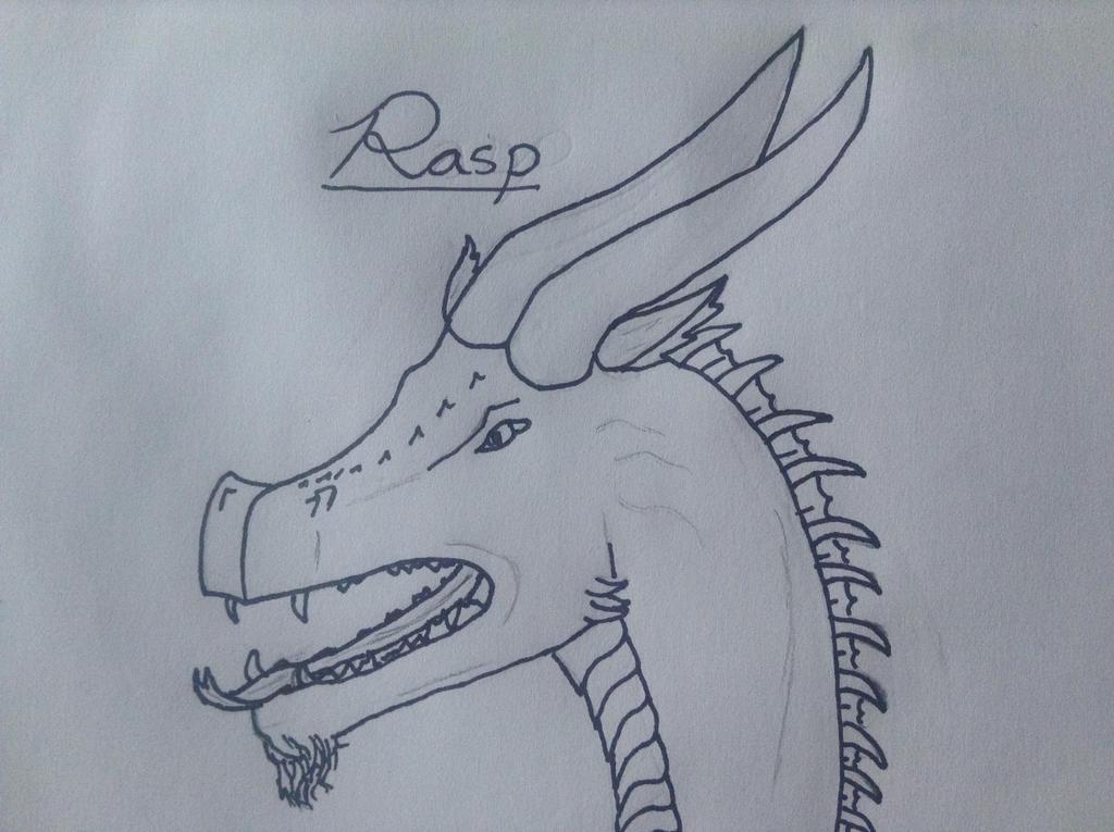 Dragon- Rasp by TheGreenNightingale
