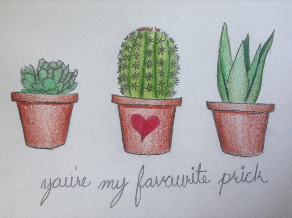 You're my favourite prick by TheGreenNightingale