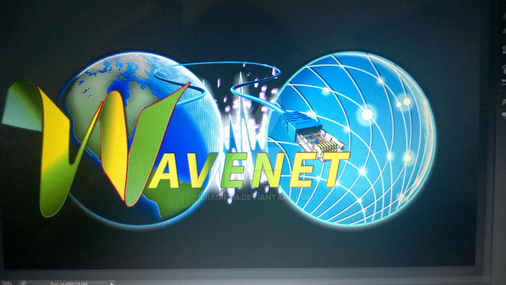 Wavenet Logo Commission 1 by Eradrom