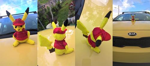 Pikachu The Dish Employee by Eradrom
