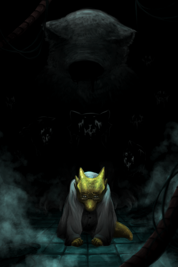 Alphys True Lab By Greenyswolf On Deviantart