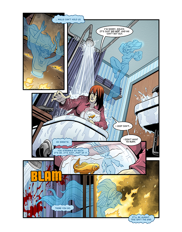 Ghost Fire Page 4 by Hominids