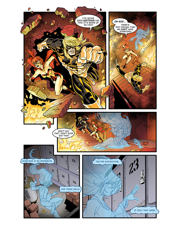 Ghost Fire Page 3 by Hominids