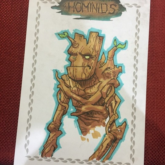 Groot by Hominids