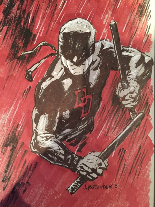 Daredevil by Hominids