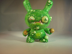 Little Green Monster with Cookies by DFed