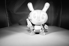 Vintage Wind-Up Bubbles Bunny Dunny by DFed